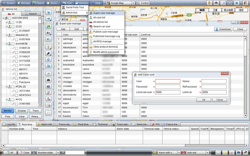 AL-900S GPS Monitor Software Quick Start